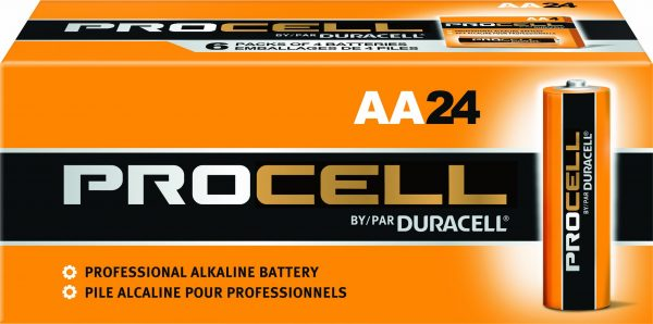 Duracell Procell PC1500 Alkaline-Manganese Dioxide Battery