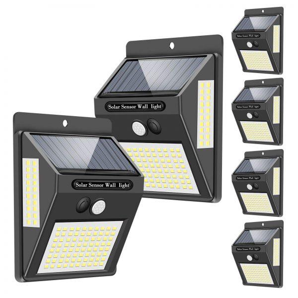 Solar Lights Outdoor, 120 LED/3 Optional Modes