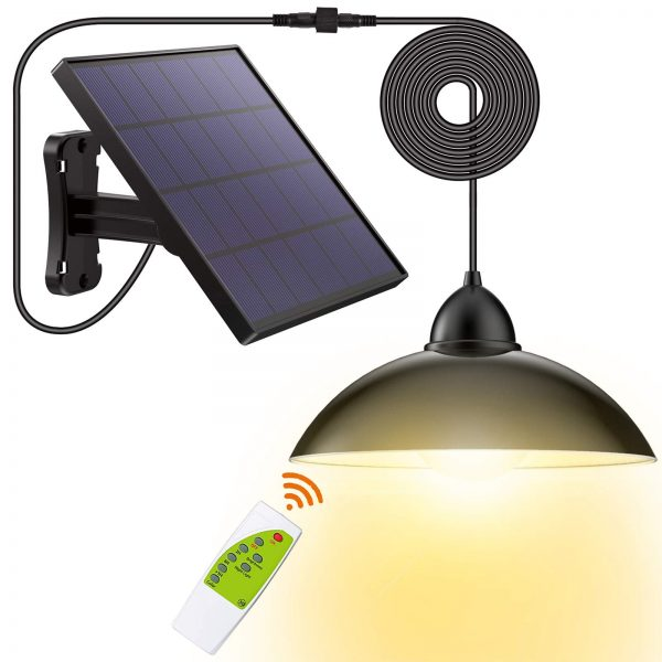 Solar Lights Outdoor-Security Powered-Pendant Led