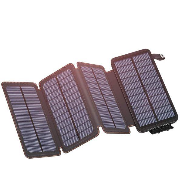 IXNINE Solar Charger Power Bank 25000mAh
