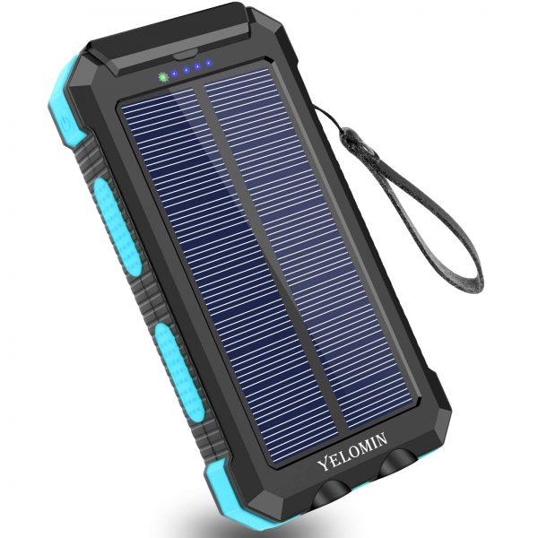 YELOMIN Portable Outdoor Solar Power Bank