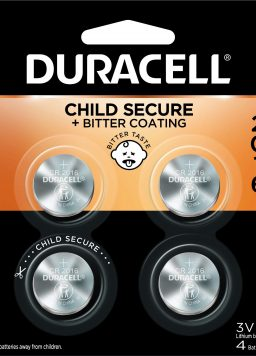 3V Lithium Coin Battery Duracell