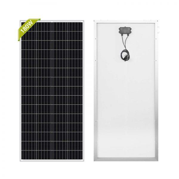 Newpowa 180W(Watt) Solar Panel 180W>170W 12V
