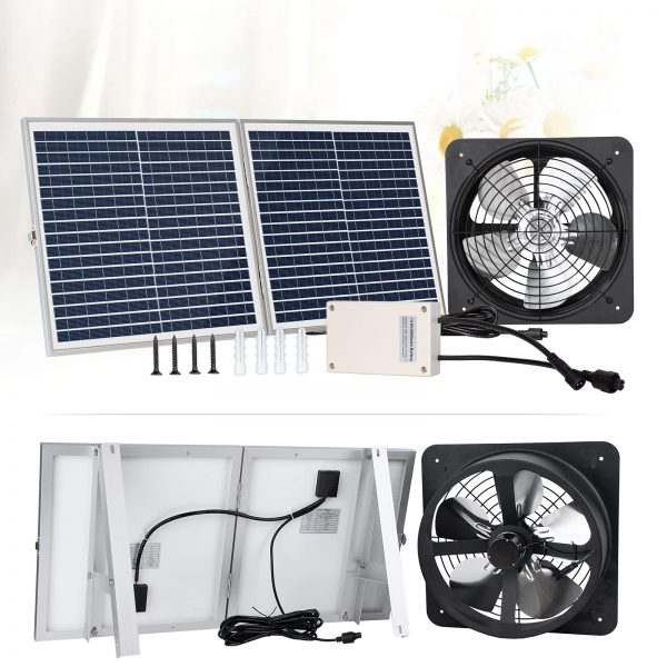 ECO-WORTHY Upgraded Solar Fan System