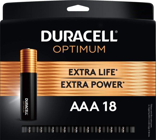 Duracell OptiDuracell Optimum AAA Batteries Ideal for Household and Office Devices