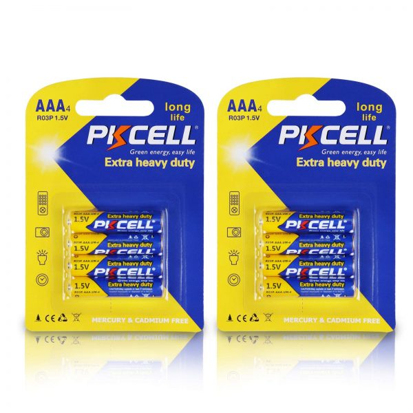 Long Lasting 1.5V Batteries Carbon Zinc AAA Battery