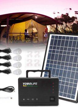 TUQI Portable Solar Generator with Solar Panel