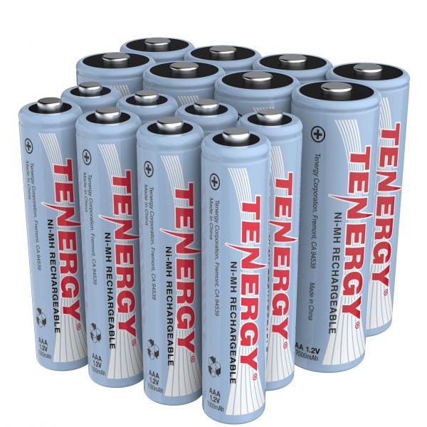 High Drain AA and AAA Battery 8-Pack 2500mAh