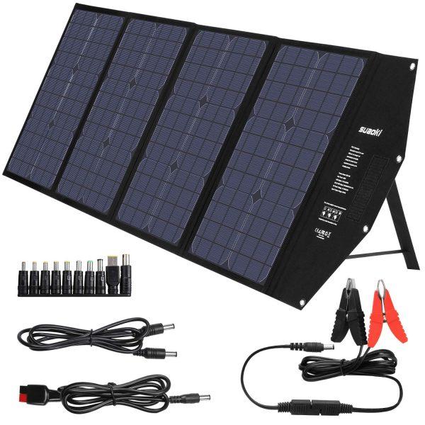 SUAOKI 100W Foldable Solar Panel Charger