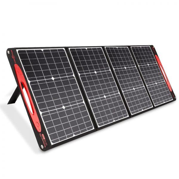 ROCKPALS Portable Solar Panel 200W 18V/36V