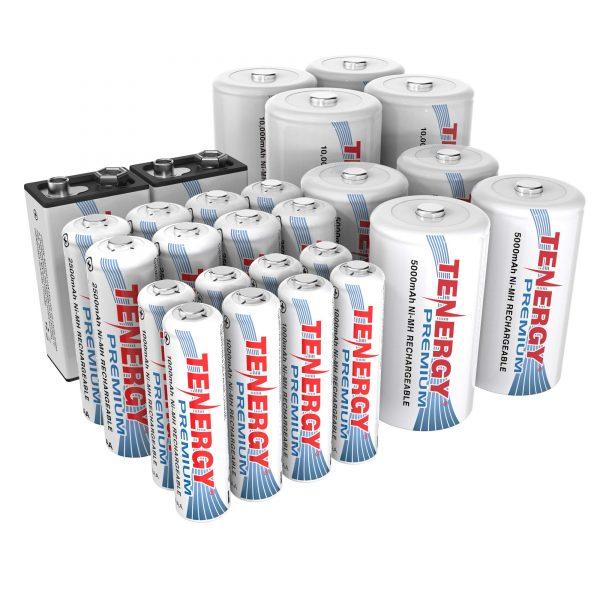 Tenergy Premium High Capacity NiMH Rechargeable Battery