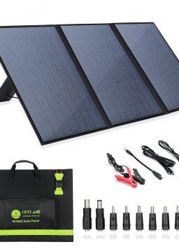 60 Watt Portable Solar Panels, Foldable Solar Panel Charger
