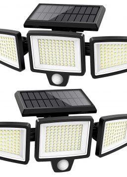 ATUPEN 210 LED 2500LM Motion Sensor Lights
