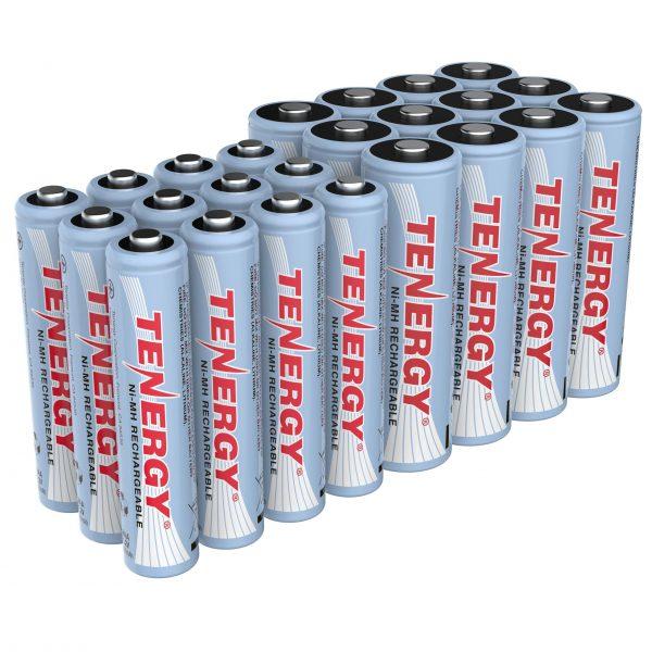 Tenergy High Drain AA and AAA Battery