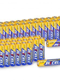 24 Pcs AA + 24 Pcs AAA 1.5V Extra Heavy Duty Batteries