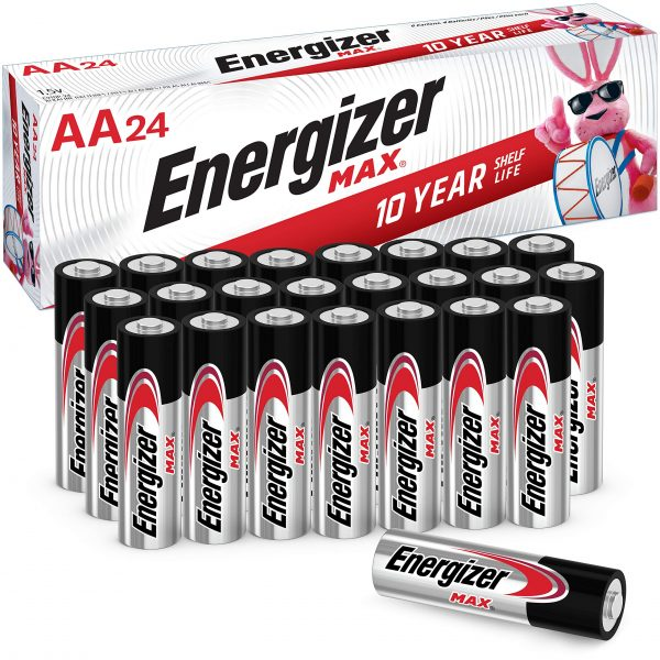 Energizer AA Batteries Double A Max Alkaline Battery