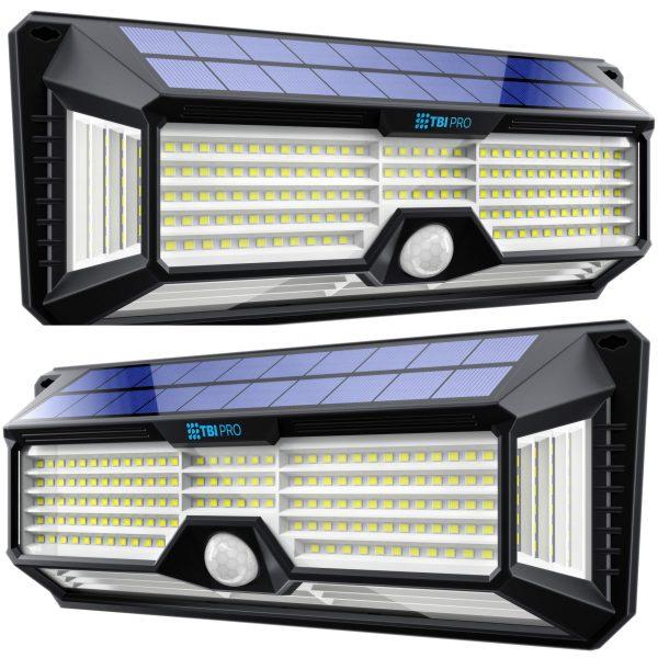 Solar Lights Outdoor Super-Bright 298 LEDs 2500lm