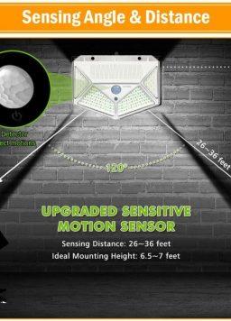 LED Solar Power PIR Motion Sensor Waterproof