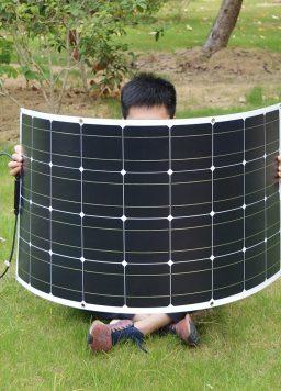 Flexible Waterproof Solar Panel For Car/Boat/Home