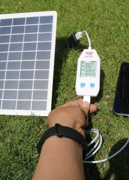iPhone X XR Power Bank Battery USB Powerbank Solar Panel