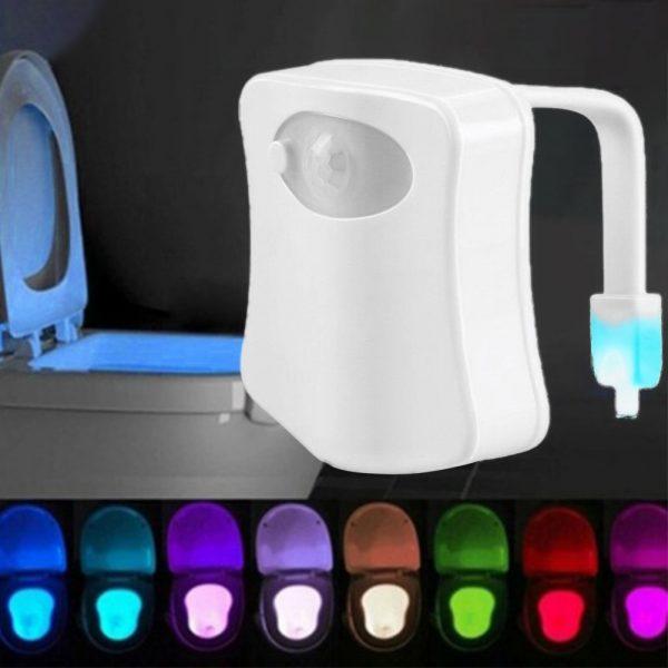 LED sensor Toilet Backlight Battery Powered