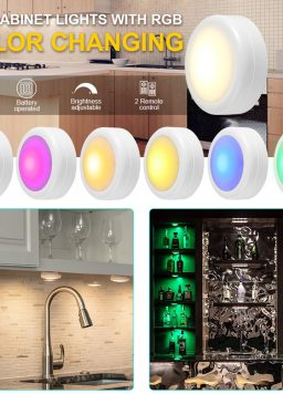 Wireless Color Changing LED Battery Powered