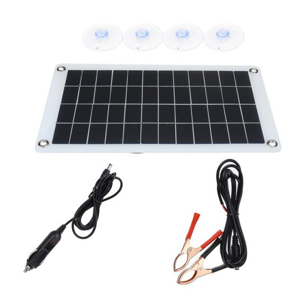 Folding Pack Mobile Power Solar Cells Battery Charger