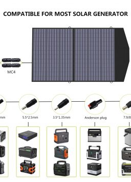 Foldable Solar Panel Outdoor Travel Camping