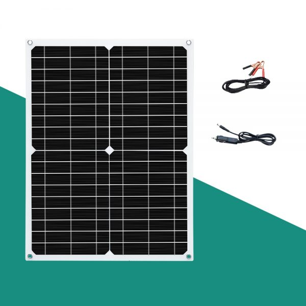 5v 18V Solar panel portable monocrystalline usb charger mobile car battery