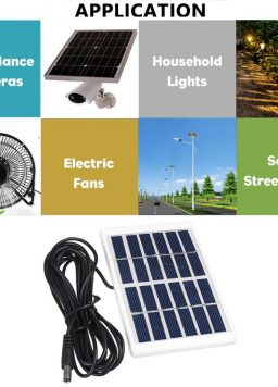 Solar Panel Outdoor Fast Charger