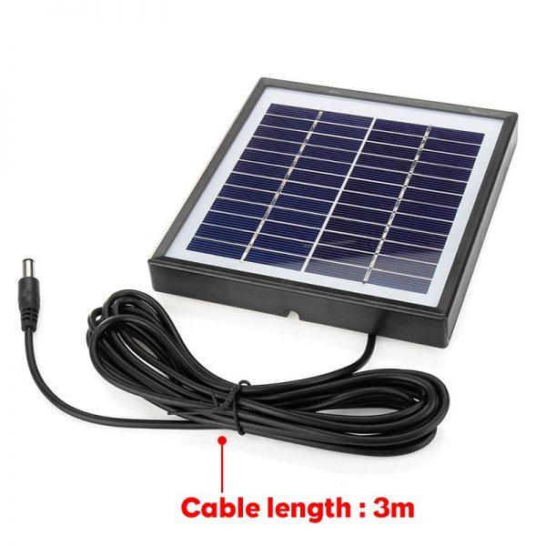 Portable Solar Charger 5W 12V Solar Panel