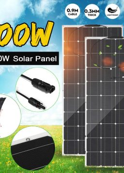 800W 400W Solar Panel For Home Camping Car