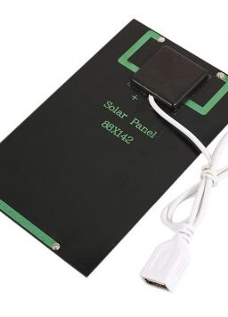 Portable Solar Panel Battery Charger DIY with USB Port