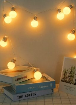 LED Globe Festoon Party Lights Battery Operated