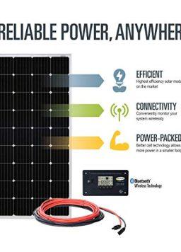 190W Solar Kit with 30-amp Solar Controller