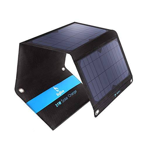 BigBlue 21W Solar Phone Charger with 2 USB