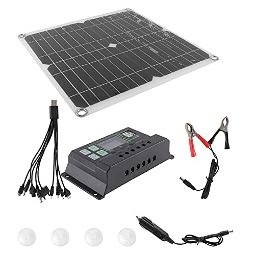 200W Portable Solar Panel Kit Charging
