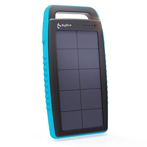 BigBlue Solar Battery Charger 15000mAh IPX4 Waterproof