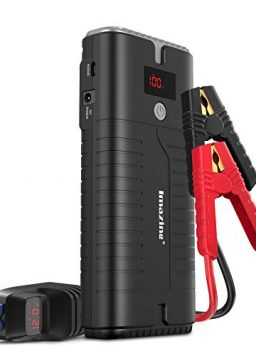 Portable Car Jump Starter 18000mAH (Up to 10L Gas or 8L Diesel Engine)