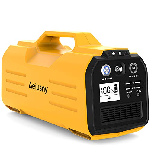 Outdoor Camping Trip Solar Generator Power Supply CPAP Backup Battery