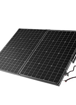 100W Solar Panels with Carry Suitcase and Aluminum Kickstands