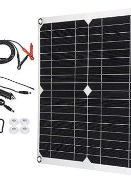 100W Portable Solar Panel Kit Outdoor Solar Emergency