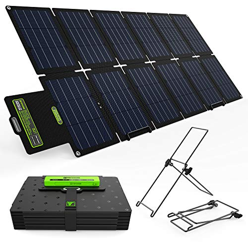 Topsolar 100W Foldable Solar Panel Charger Kit
