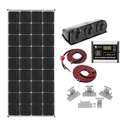 Zamp solar Legacy Series 170-Watt Roof Mount Solar Panel Kit