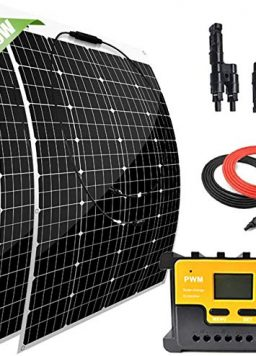12 Volt Solar Marine Kit Monocrystalline Panel