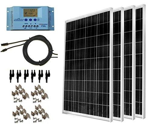 WindyNation 400 Watt Solar Kit