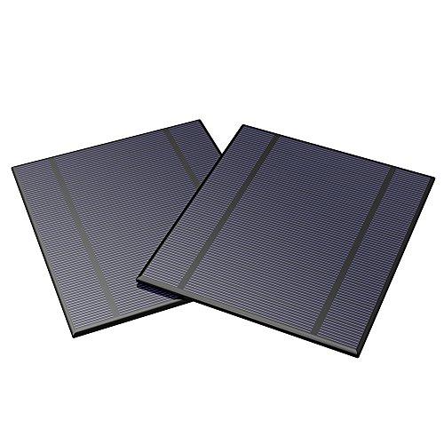ALLPOWERS 2 Pieces 2.5W 5V/500mAh Solar Panel