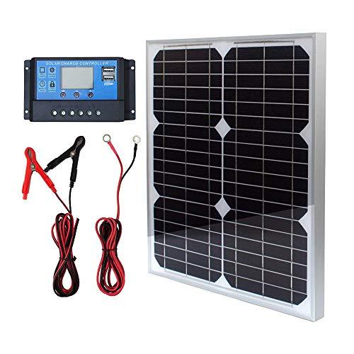 TP-solar Solar Panel Kit 20W 12V Monocrystalline