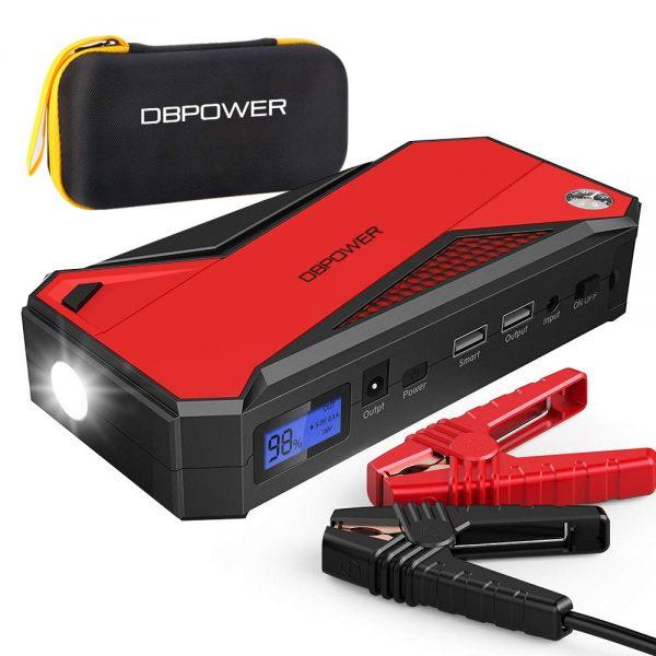 DBPOWER 800A 18000mAh Portable Car Jump Starter